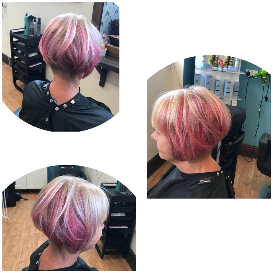 Hair Cut & Colour by Fringe Hair Salon Newquay