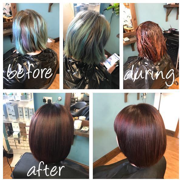 Hair Colour by Fringe Hair Salon Newquay