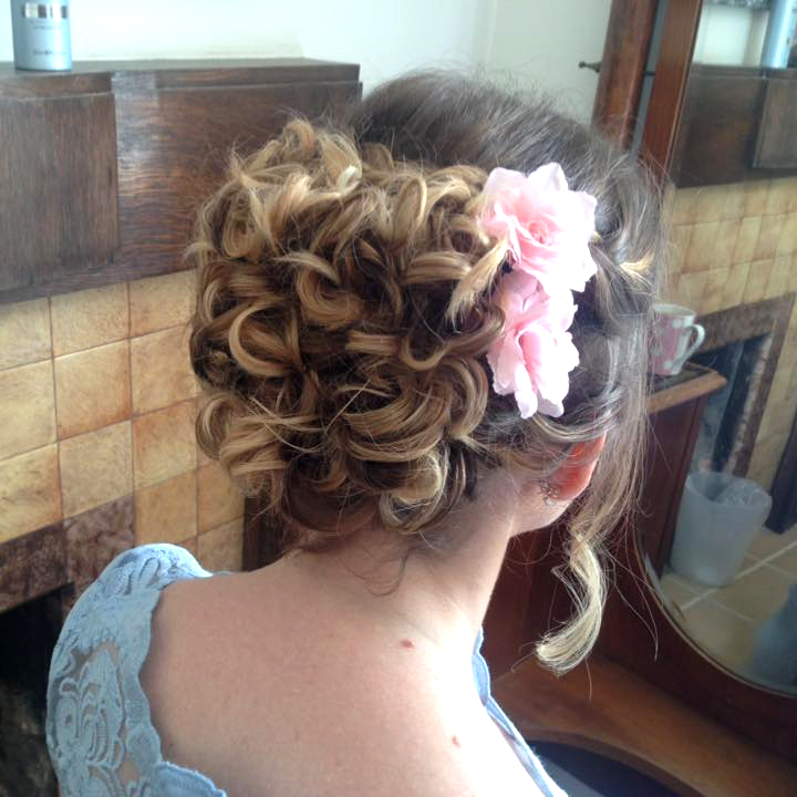 Wedding and Party Hair at Fringe Hair Salon Newquay