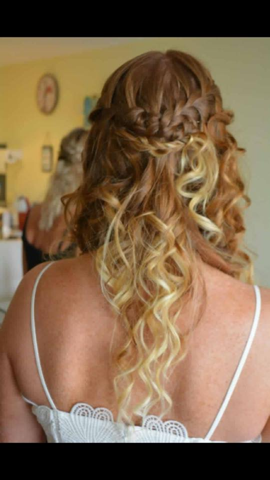 Wedding Hair by Fringe Hair Salon Newquay