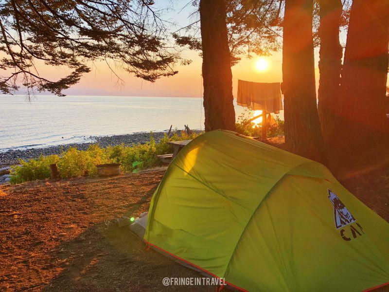 Canada in tenda outdoor5