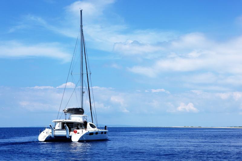 viaggi in barca catamarano