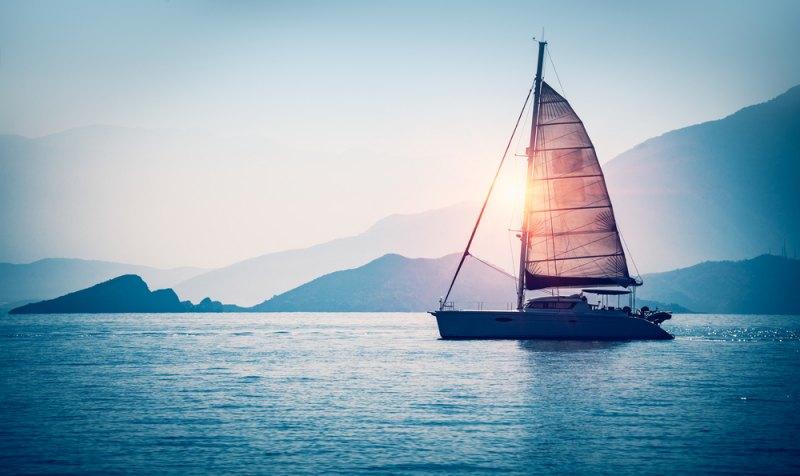 viaggi in barca tramonto