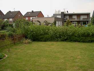 Kleiner Garten. Vorher-Planung-Ausführung-nachher