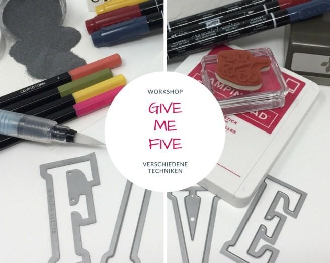 Workshop Give me five