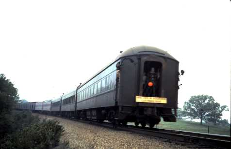 Passenger Train Near Newburg, Missouri