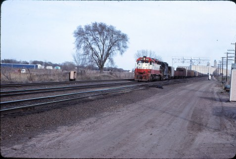 SD45 922 at Topeka, Kansas on April 10, 1980