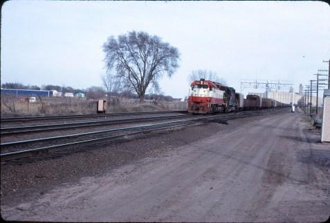 SD45 922 at Topeka, Kansas on April 10, 1980