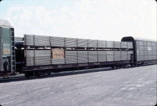Autorack 931229 at Helena, Montana in August 1983