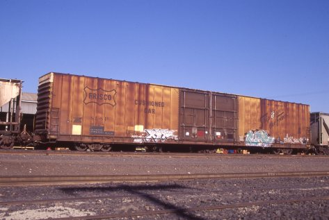 Boxcar 9128 at Pasco, Washington on August 2, 1997 (R.R. Taylor)