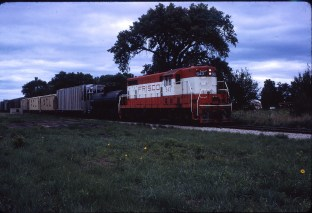 GP7 543 (location unknown) in June 1967