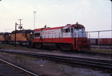 U30B 845 (location unknown) on August 6, 1974