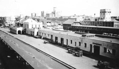 Springfield, Missouri Passenger Station on January 18, 1953 (Arthur B. Johnson)