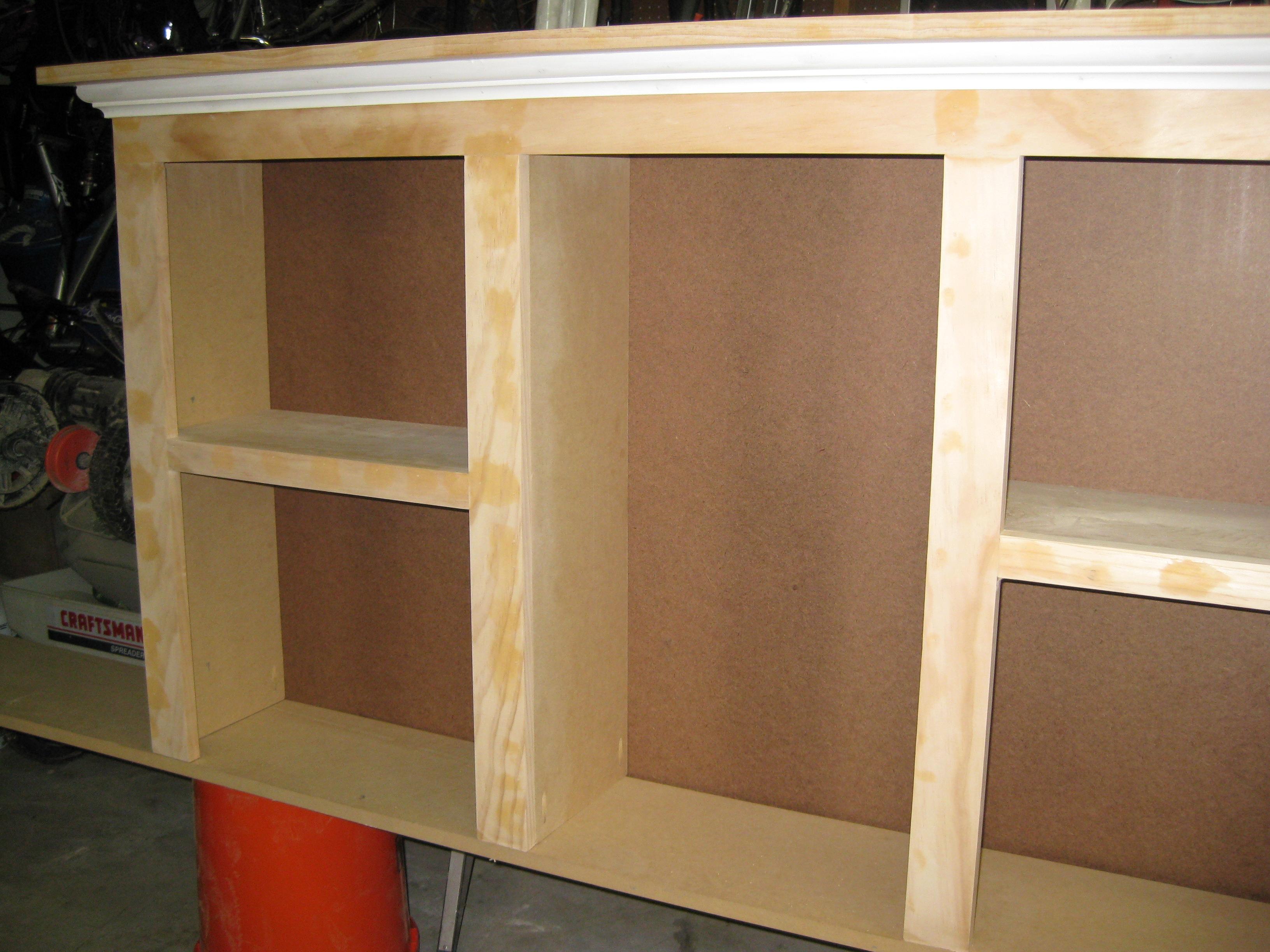 King Size Bookcase Headboard Plans