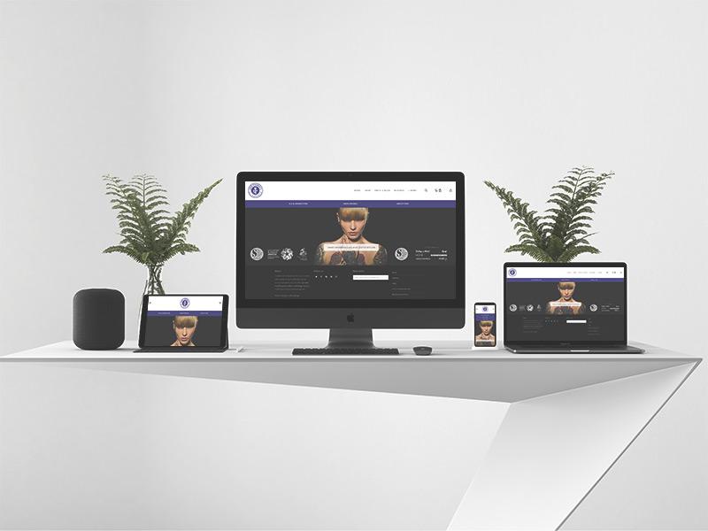 Modern Apple website presentation