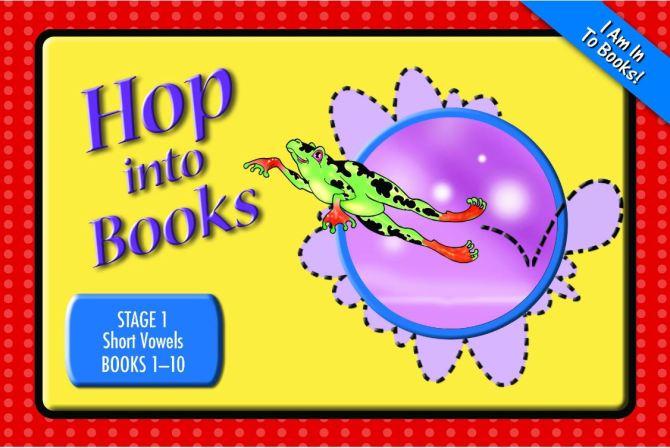 Decodable Phonics Readers - Hop Into Books