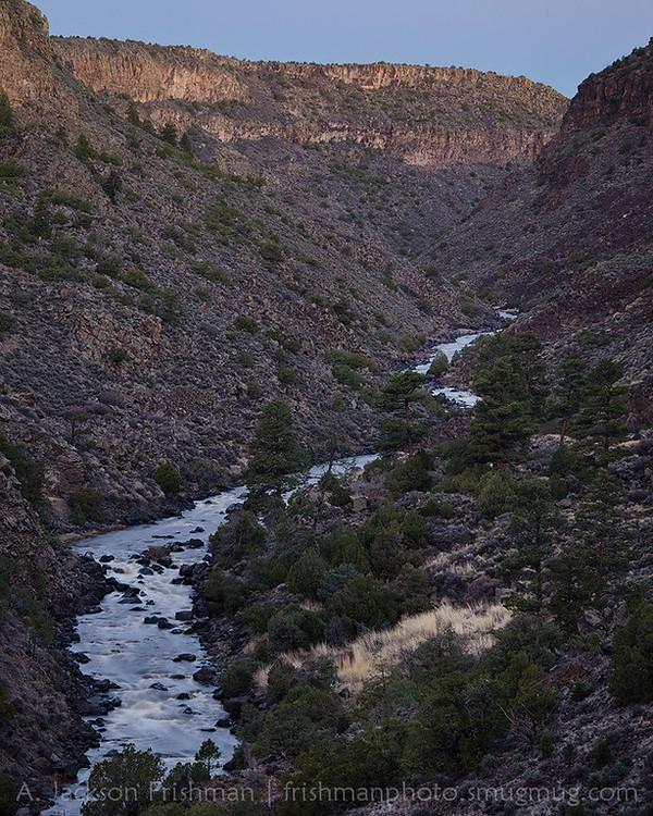 Rio Grande Gorge, Wild Rivers Recreation Area, New Mexico
