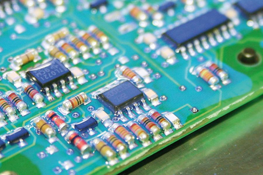 Tolle Symbole Von Elektronikkomponenten Zeitgenössisch - Elektrische ...