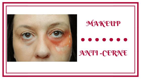 frivole et futile make up anti-cerne astuces