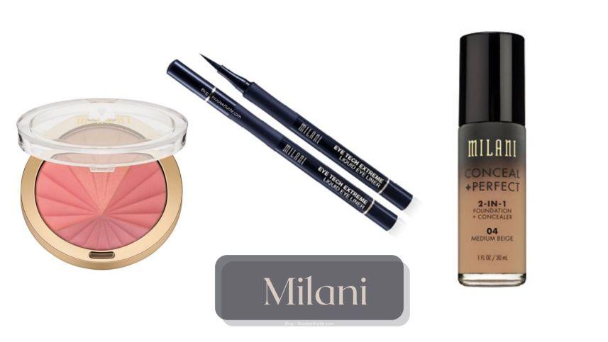 marque milani close up 3 produits