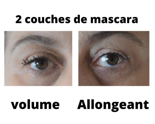 2 couches de mascara bourjois