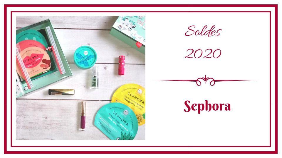 BLOG frivole et Futile solde 2020 sephora