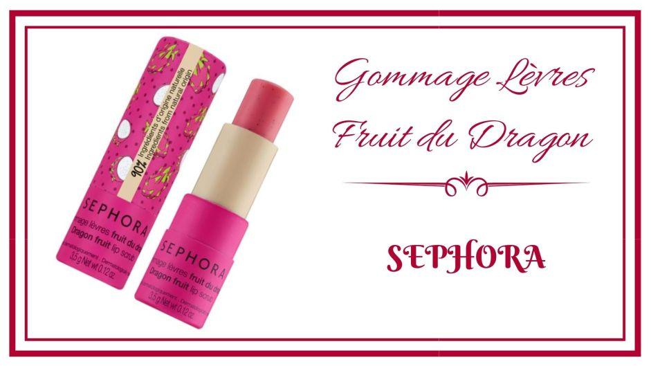 Gommage lèvres raisin sephora