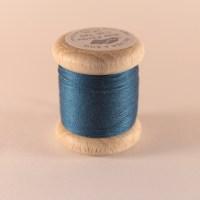 Fil de soie perlée bleu roi 769 Au Ver à Soie