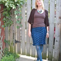 Knitted Skirts for Fall