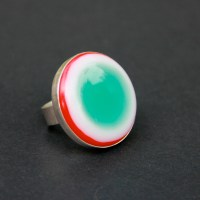 Fused Glass Ring