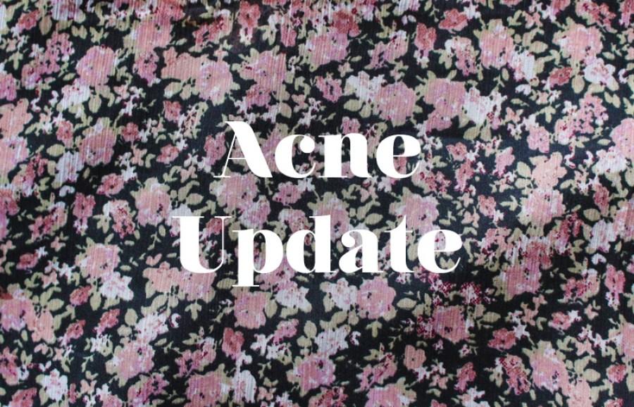 acne scars progress
