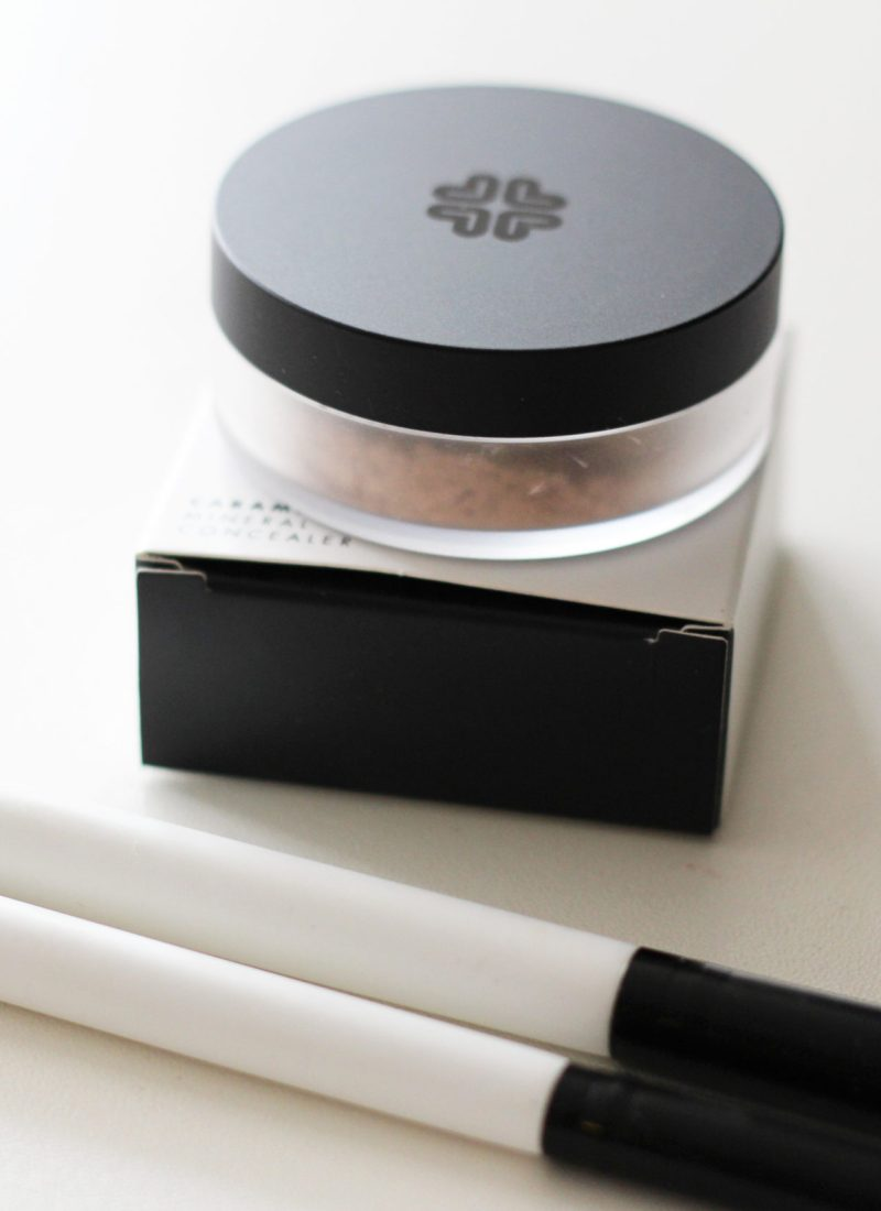 Lily Lolo Concealer in Caramel + Brush Review