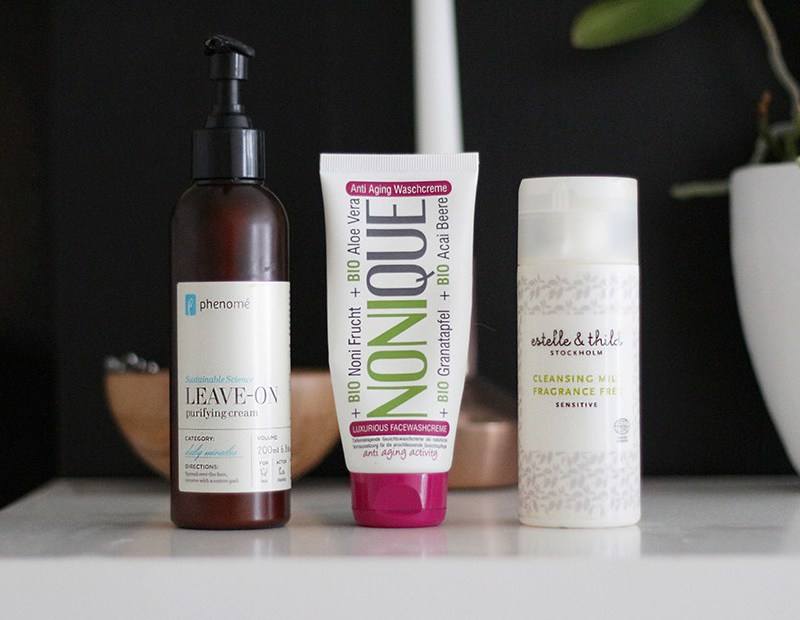 Testing: 3 Gentle Cream Cleansers