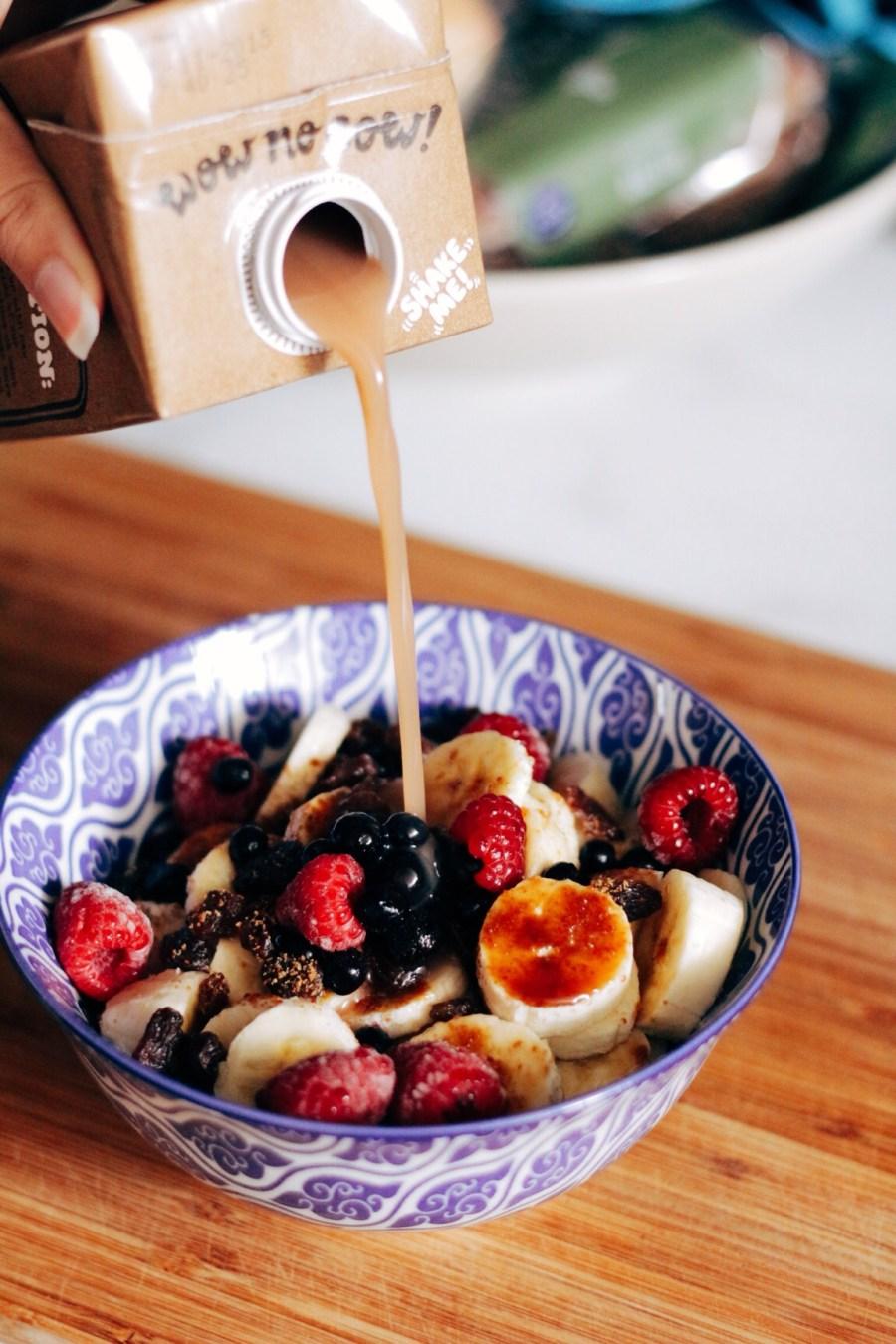 Raw Cereal Bowl Granola Recipe