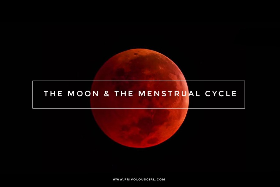 The Moon and menstrual cycle blood moon