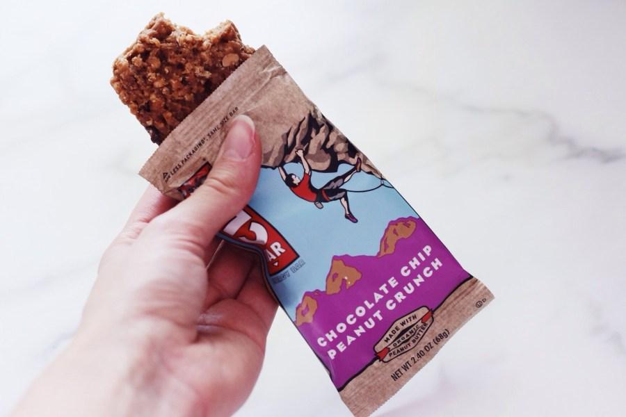iHerb Haul Clif Bar Chocolate Chip Peanut Crunch