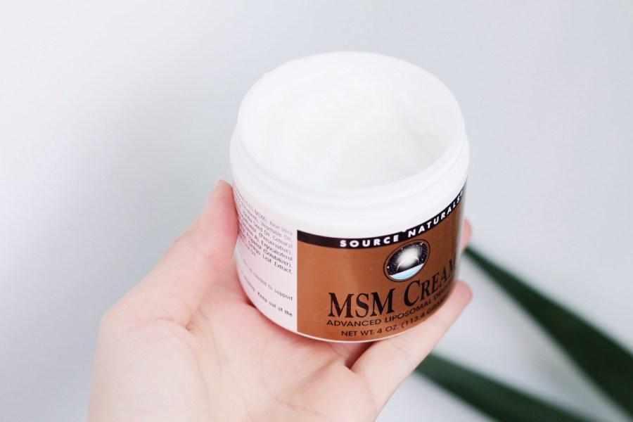 iHerb Haul Source Naturals MSM Cream