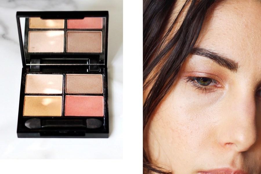 Zuii Organic Quad Eyeshadow Palette in 'Fresh'