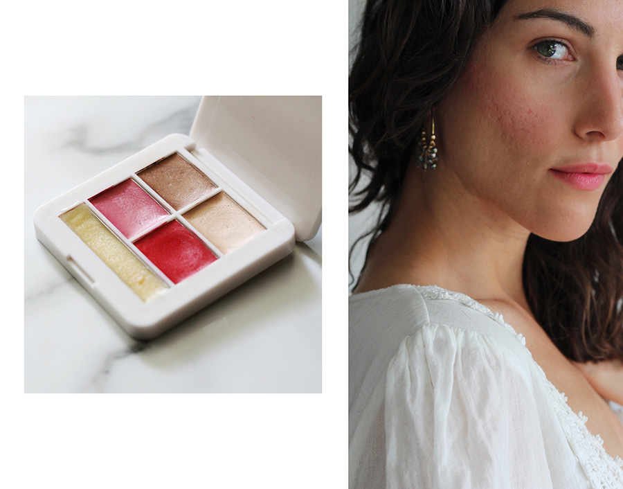 RMS Beauty POP Collection Lip2Cheek Beloved swatch
