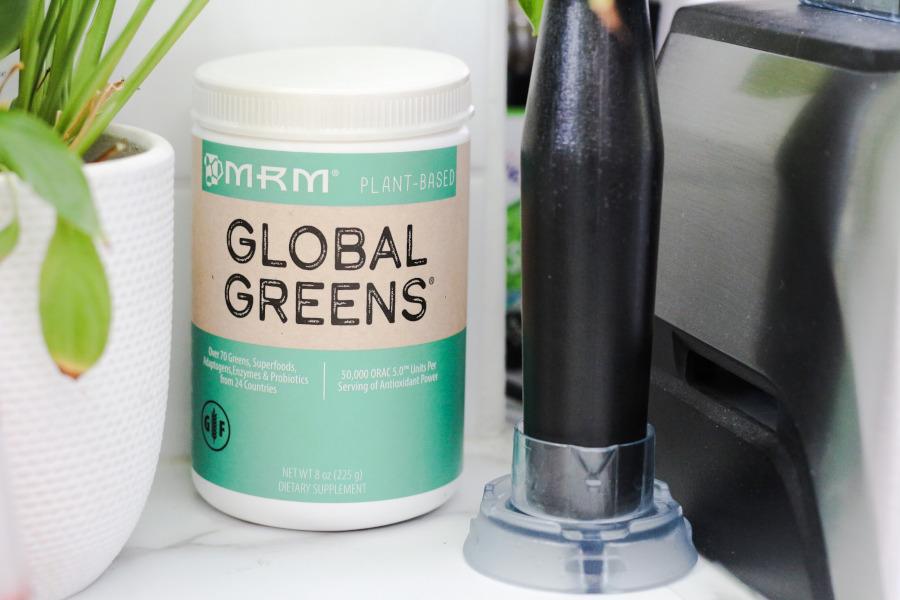 iHerb MRM Global Greens Plant-Based Powder