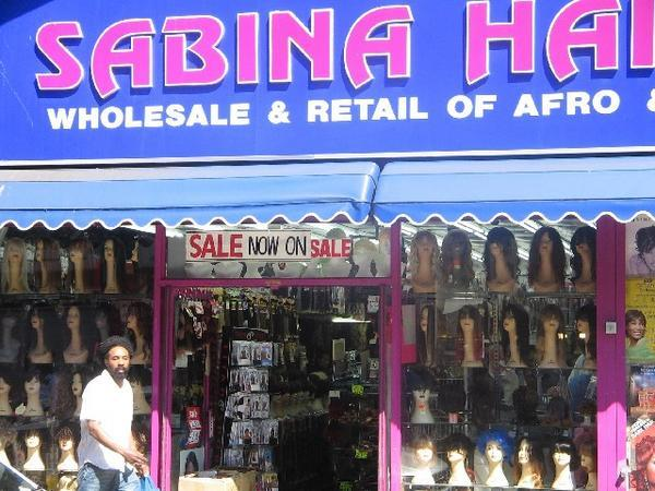 Sabina hair shop brixton