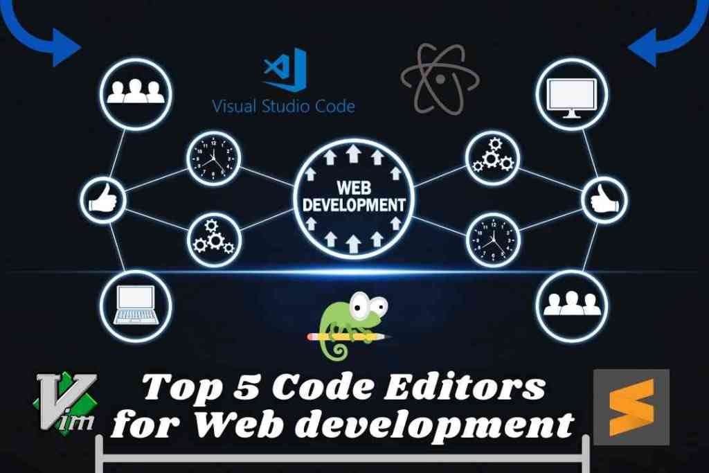 Top 5 Code Editors for Web development
