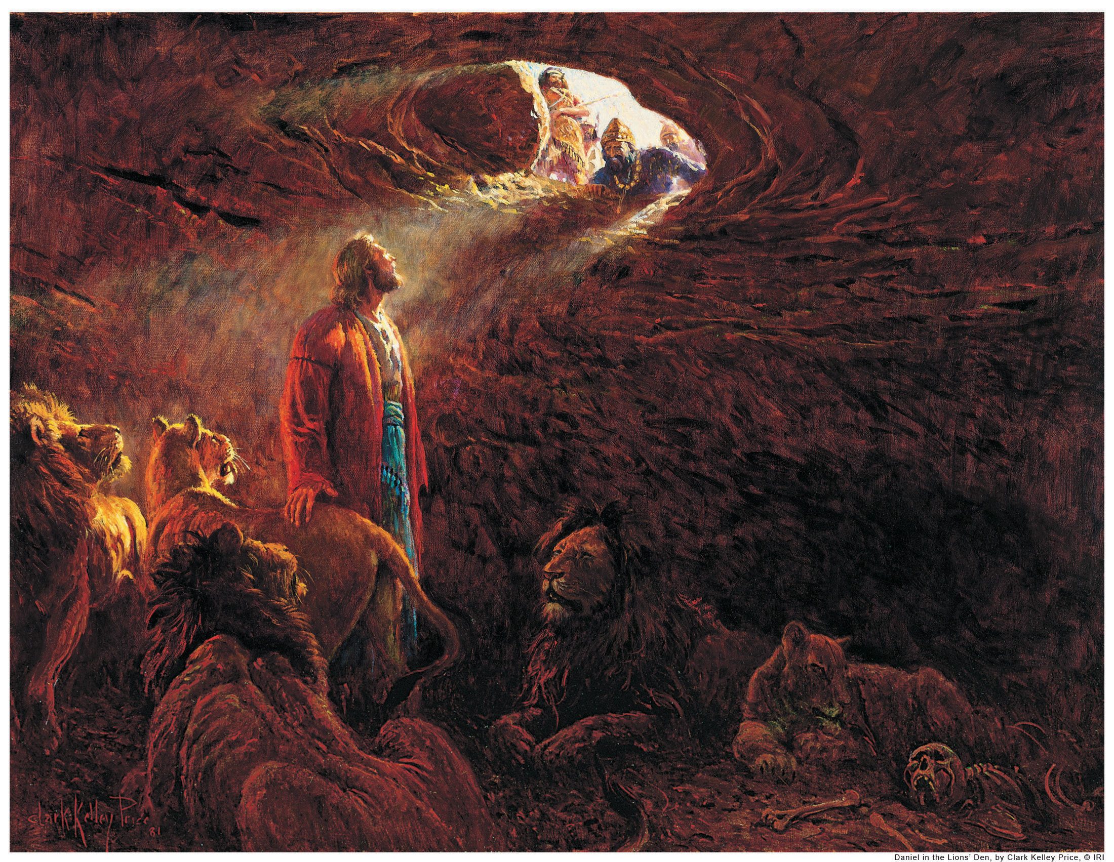 Daniel Shepherd Of Lions