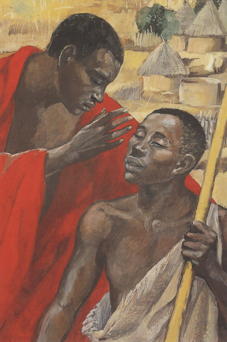 JESUS MAFA: Jesus cures the man born blind