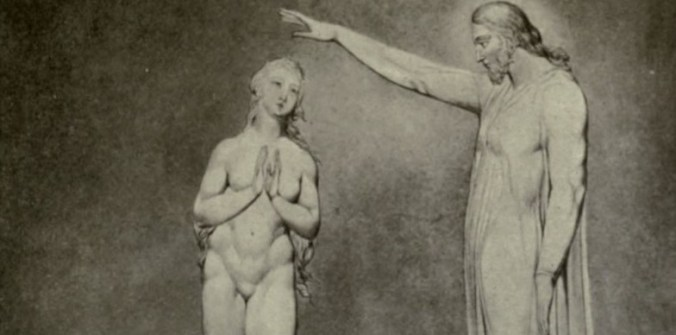 The Creation of Eve, by William Blake