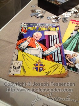 Yes, this is a Pope John Paul II comic book from Marvel.
