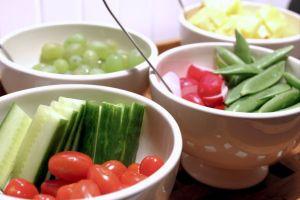lego-movie, snacks, tomat, agurk, ananas, slikaerter, radiser