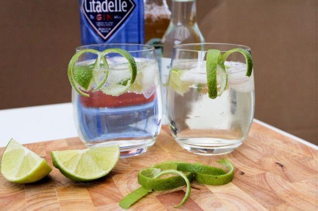 gin, tonic, hyldeblomst-saft, drinks, opskrift