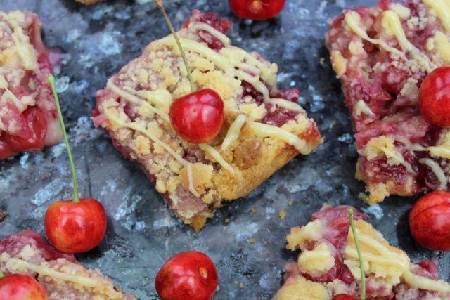 kirsebaertaerte, kirsebærtærte, cheery-crumble-pie, tærte, taerte, opskrift, hjemmelavet, livsstilsblog