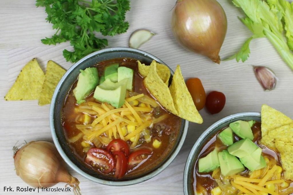 Mexicansk tacosuppe